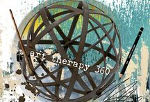 Art Therapy 360 / Art Therapy 360 invites community members & supporters to create a mandala (in any media) celebrating the awesomeness & power of art therapy.  Learn how to join the celebration here: http://wp.me/p3bAfe-c3 / by Art Therapy Alliance