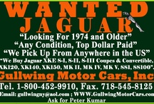 Wanted Classic Jaguar / We are always looking for Classic Jaguar . Please call us if you any of these Jaguar Model. Jaguar XKE S-I | XKE S-II |  XKE S-III - Coupe |  Convertibles |  Roadster . Jaguar XK120 |  XK140 |  XK150 | Drop Head Convertible (DHC) | Jaguar SS |  Jaguar SS 100 |  Jaguar MK IV |  MK V . Any Classic Jaguar.