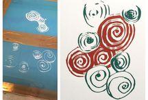 Designs, prints by me