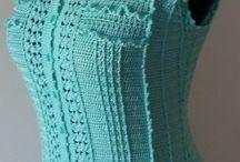 Вязаные платья, юбки