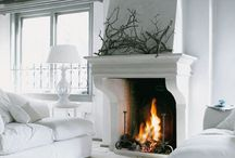 Turn Up The Heat / #Fireplaces #Mantles #Focalpoints