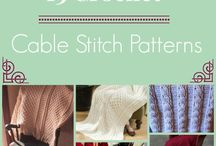 Crochet (Cable stitch)
