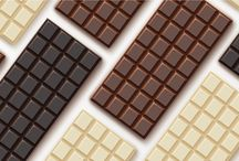 Chocolate Logos / And with the growth of artisanal chocolate brands, there is even more demand for bespoke logos to represent the tailored types of sweet. Find more inspiration here: http://logo.designcrowd.com/logo-design-gallery/food/sweet/chocolate-logos