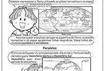 Atividades de geografia