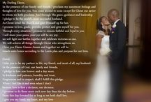 Wedding- Ceremony Vows and literature / by Chelsea Kiyabu