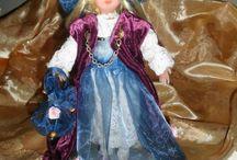Lo scrigno della fantasia. / Un luogo di magiche creazioni artigianali: fate, bambole ecc.