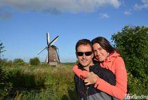Paises Bajos / Viajes varios a los Paises Bajos en los que conocer ciudades como Ámsterdam, Rotterdam, Gouda, La Haya....