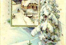 Старинные русские открытки