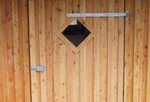 Stalltüren / Stalltüren Barndoors Horsedoors Verschiedene Arten Different doors