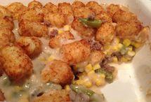 Hotdish/casseroles / by Ashley Tveit