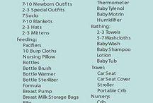 baby checklist shopping