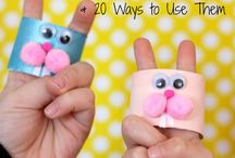 Little people arts and crafts. / Fun things to do with the kiddies