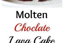 Molten Choc Lava Cake