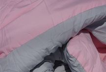 Glacier Gray/Calm Pink Reversible Comforter - Twin XL / Glacier Gray/Calm Pink Reversible Comforter - Twin XL