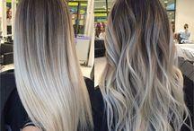 Hair - Ash Blonde Balayage