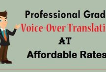 Professional Grade Voice-Over Translation at Affordable Rates