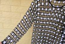 Csak kép – horgolt nyári pulóver