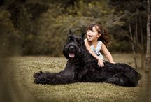 Crianças e Pets / kids and Pets /  Dia a dia de crianças com os diversos animais de estimação.  Daily kids with their pets.