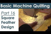 Maschinen Quilting