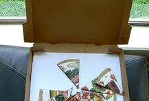 Box art- Pizza, CD, etc