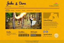Lemonice paper / Desain tema undangan online dari Datangya.com , Lemonice Paper