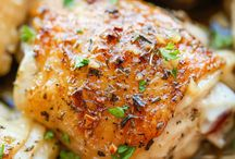 Poultry Power / Recipes featuring whole and selected cuts of chicken, even ground!