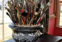 Factory girl studios / Art studio of Alice allsopp
