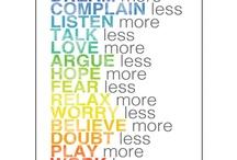 words of wisdom  / by Sharmin Tahir
