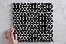 TileClouds Black Tiles