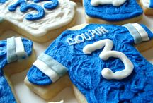 Play Ball! / Sports Cookies | Custom Cookies | Football Cookies | Baseball Cookies | Lax Cookies | Desserts for the Team | Tailgating Desserts
