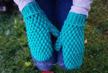 Winter crochet and knit