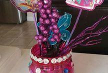 shimmer&shine birthday decor
