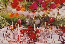 Decoraciones exteriores para boda. Wedding decoration. / Nos encantan las bodas y todo lo que tiene que ver con ellas, especialmente la decoración en exteriores.