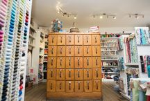 Bibelot Haberdashery Room / Sewing, knitting, crochet, wool, fabric, ribbons, buttons & patterns, Jewellery Making, Craft Kits & so much more can be found in our well equipped haberdashery department.