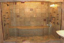 Travertine & Limestone Showers