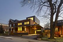dpai - Stanley Residence / A complete remodel, this private residence communicates that a new and sustainable form can be invented while highlighting and celebrating the neighbourhood's historical legacy.