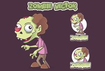 non-exclusive character design / You can buy my non exclusive vector character designs here : creativemarket.com/rockcodile