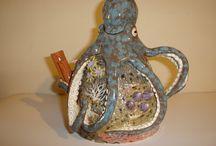 clay teapots / desing teapots