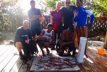Saturday Lionfish Hunt / As part of our Lionfish Containment Program, which aims to help control the spread of invasive lionfish in the region, the Caribbean Reef Buddy Lionfish Containment team go out to hunt lionfish every Saturday. Here are the results!