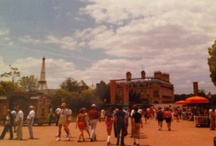 Classic Disney  / Disney Pictures of Classic Attractions Extinct attractions and memorable scenes