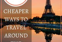 Budget Travel / All about finances: how to finance your travels and keep it cheap. #BudgetTravel