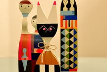 Alexander Girard dolls and others