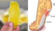 combatti infiammazione con buccia di limone