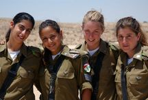 idf girls / soldados femeninas
