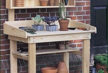 Potting work stations