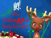 Christmas Mystery Party - Who Kidnapped Rudy Reindeer / A fun family Christmas mystery party by My Mystery Party at www.MyMysteryParty.com