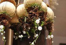 Blomster arbeid til jul