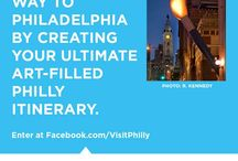 Pin Your Way With Art Philadelphia™ / Pin your way to Philadelphia by creating your ultimate art-filled Philly itinerary on Pinterest. You choose where you want to stay, eat and explore, and we'll make one lucky winner's dream trip a reality! Use this board for inspiration and fill out the entry form here: http://budurl.com/9am2