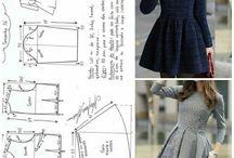 pattern+sewing