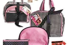 Three Piece Cosmetic Bag Set